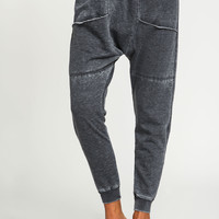 Smoky Grey Slouch Sweatpants
