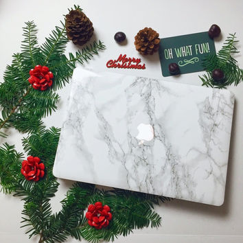Marble MacBook Skin / Sticker for MacBook Air, MacBook Pro, MacBook Pro Retina. Made in the USA. FREE U.S. Shipping!