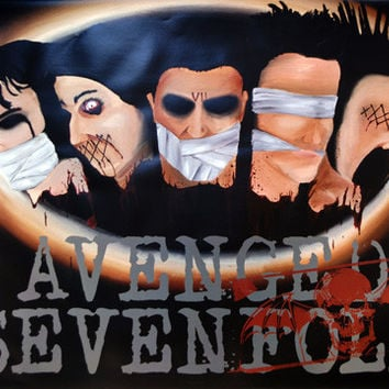 Avenged sevenfold Blindfolded Poster