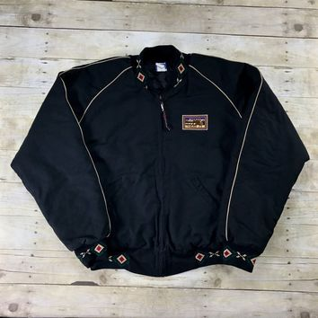 Black browning canvas jacket