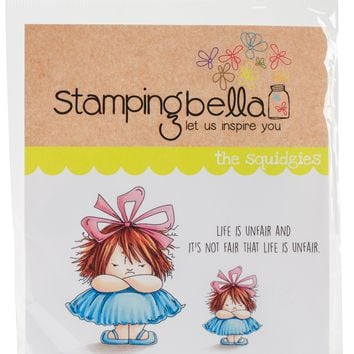 Stamping Bella Cling Stamps-Grumpy Squidgy