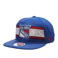 "Zephyr ""EPIC"" Superstar Snapback Cap - NHL Flat Bill, One Size Adjustable Baseball Hat"