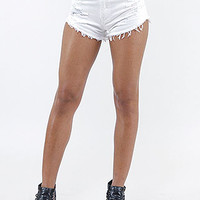 Shop Trendy Junior Machine Ripped Denim Shorts