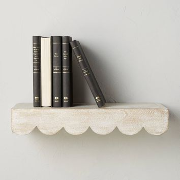 Scalloped Shelf