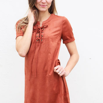 Taste Of Cinnamon Dress