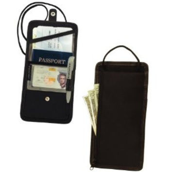 Travelon-ID and Boarding Pass Holder with Snap Closure