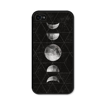 iPhone 6 Case iPhone 5c Case Moon Phase Moon iPhone 5 Case - Moon iPhone Case - Moon iPhone 5 Case Moon Phase Samsung Galaxy S4 Phone Case
