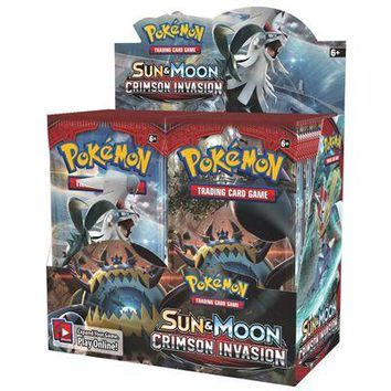 Crimson Invasion - Booster Pack - Pokemon TCG