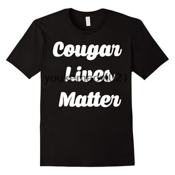 Cougar Lives Matter Funny Tee - Novelty T-shirt