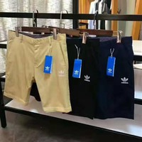 Adidas print casual pants shorts for man H-YF-MLBKS