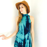 Cara Tie Dye Playsuit- Teal