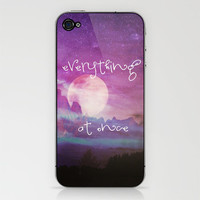 EVERYTHING AT ONCE iPhone & iPod Skin by M✿nika  Strigel	 | Society6 removable SKIN for iPod 4 and 3 and iPhone 5 / 4 / 4 S / 3 GS / 3 G ***