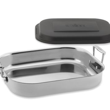 All-Clad Gourmet Accessories Stainless-Steel Lasagna Pan with Lid