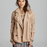 Free People Car Coat - Tipped Canvas | Bloomingdale's