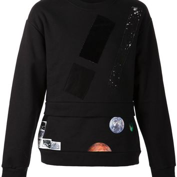 Raf Simons Sterling Ruby layered sweater