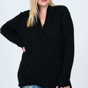 Twenty Ten Brushed Hacci Knit Top
