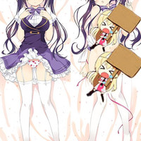 New Is The Order A Rabbit? Rize Tedeza Anime Dakimakura Japanese Pillow Cover H2895