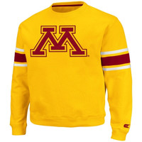 Minnesota Golden Gophers Skyline Fleece Sweatshirt - Gold