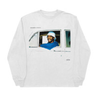 'saturation ii' longsleeve t-shirt (white)