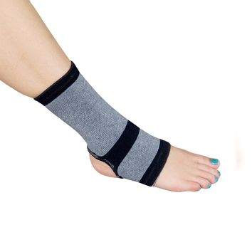 Evelots 1 Bamboo Ankle Wrap Support/Compression Arthritis Brace - Medium