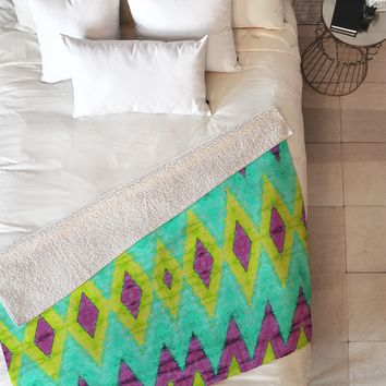 Ingrid Padilla Impress 1 Fleece Throw Blanket