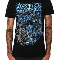 Avenged Sevenfold Blue Electricity Slim-Fit T-Shirt - 924701