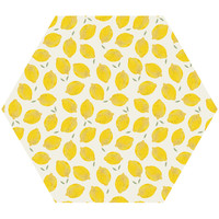 Lemon Hex Wall Decal