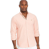 Polo Ralph Lauren Big & Tall Classic-Fit Oxford Shirt - Slate