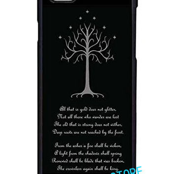 The Lord of the Rings White Tree of Gondor fashion case cover for iphone 4 4S 5C 5 5S SE 6 6S 6 plus 6s plus 7 7 Plus #ty328