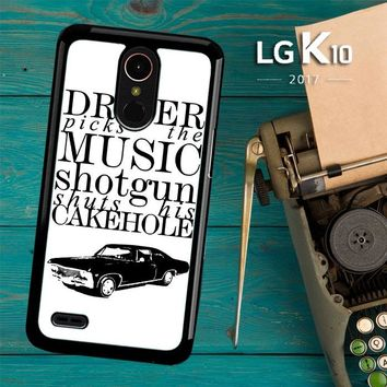 Supernatural Z0198 LG K10 2017 / LG K20 Plus / LG Harmony Case
