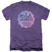 FOSTERS/LOGO-S/S ADULT PREMIUM TEE-DEEP PURPLE HEATHER-LG