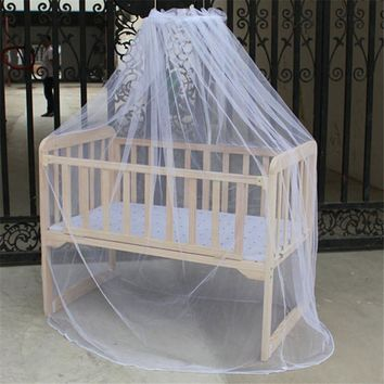 New mosquito bar Nursery Baby Cot Bed Toddler Bed or Crib Canopy Home Mother Mosquito Net White P1