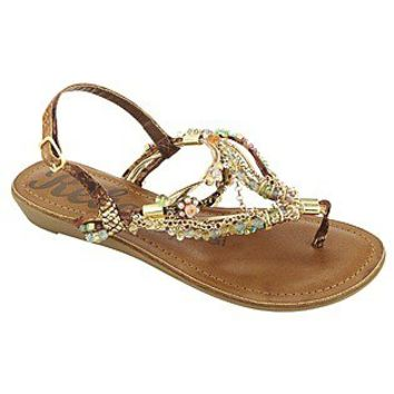 Rebel by Zigi- -Women's Sandal Dreamweaver - Brown-Shoes-Juniors Shoes-Juniors Sandals