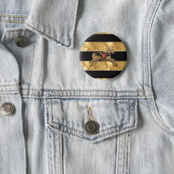 Sadie Spotted Horse Pinback Button