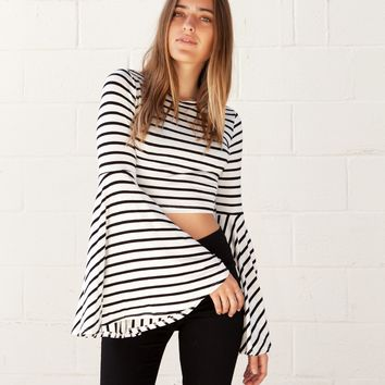isabelle's cabinet Griffin Striped Top - Clothes - New Arrivals