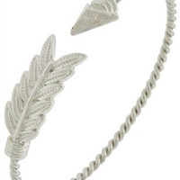 Follow Your Arrow Bracelet | Silver
