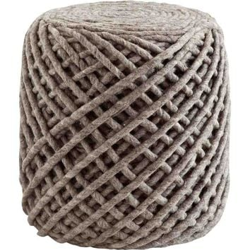 Packe Wool Pouf