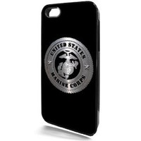 Marine Corps Black I-Phone 5 & 5S Case from Redeye Laserworks