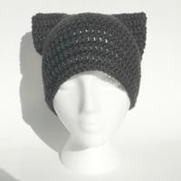 Cat Hat CROCHET PATTERN Crochet Cat Hat Baby Cat Hat Pattern Cat Ear Hat Cat Beanie Kitten Ears Kitten Hat Cat Ears Baby Crochet Animal Hat