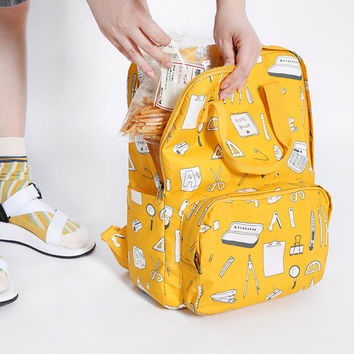Office Supply Backpack by TYAKASHA