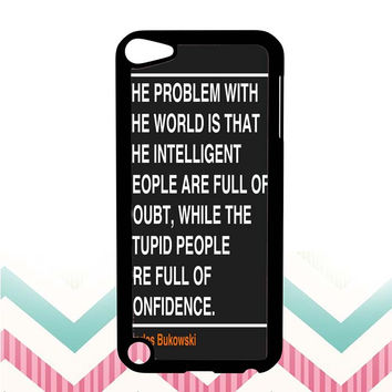 Ain't that the truth. The ones that ought to have conviction, are the ones that sit there all clueless. iPod 5 case