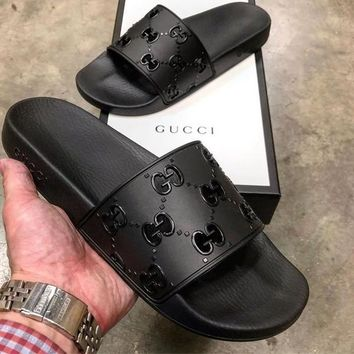 Retro GUCCI Slipper Sandals Shoes for Womens Mens Summer Gift