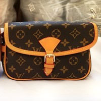 LV Louis Vuitton Newest Women Shopping Leather Shoulder Bag Crossbody Satchel