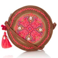 Katie Festival Round Across Body Bag | Pink | Accessorize