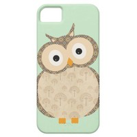Cute Cartoon Baby Owl iPhone 5 cases from Zazzle.com