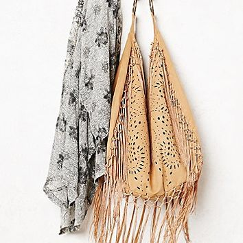 Muche et Muchette Womens Jones Fringe Hobo Bag