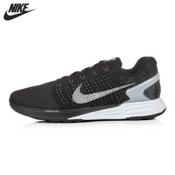 Original NIKE LUNARGLIDE 7 FLASH Men's Running Shoes Sneakers