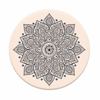 Natural Mandala - Universal Pop Up Phone Holder Expanding Stand Grip Mount Socket For Phone or Tablet