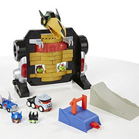 Angry Birds Transformers Jenga Optimus Prime Attack Game By Hasbro