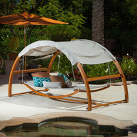Christopher Knight Home Tonga Swing Bed with Canopy
